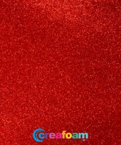 Glitterfoam Candy Red (2mm)
