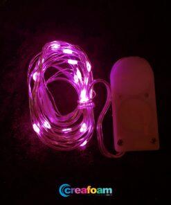 Led lichtjes Roze