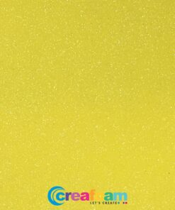 Glitterfoam Lemon Yellow (2mm)