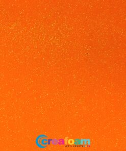 Glitterfoam Neon Orange (2mm)