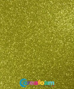 Glitterfoam Poison Green (2mm)