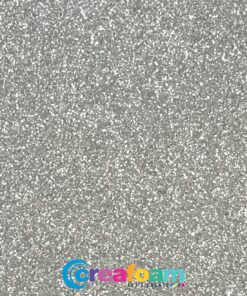 Glitterfoam Silver (2mm)