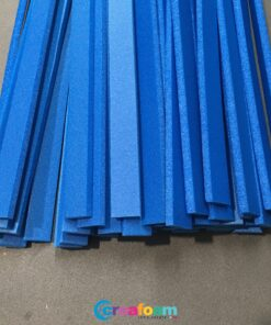 Foam Strips Azure Blue