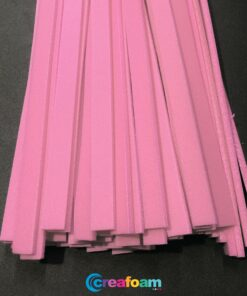 Foam Strips Bubblegum Pink