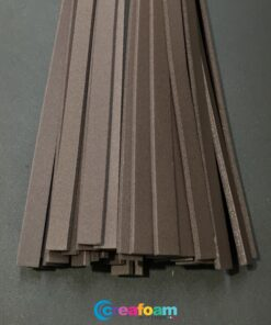 Foam Strips Chocolate Brown