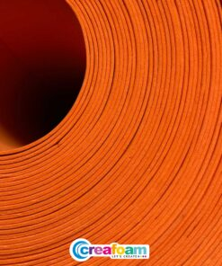 EVA foam Fire Orange (2mm)