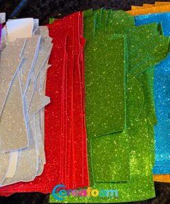 Glitterfoam resten 6 kleuren