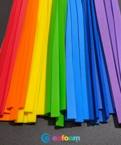 Foam Strips Rainbow Mix