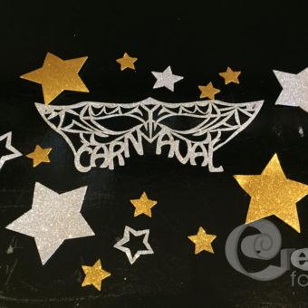 voorgesneden foam sterren